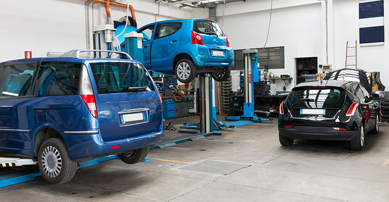 automotive - car dealerships garages bodyshops