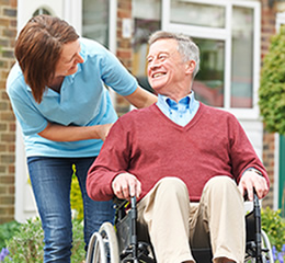 Care and residential home in the private and public sector